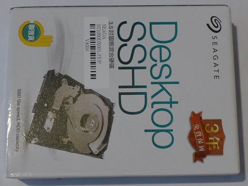 Seagate 1TB SSHD 混合碟