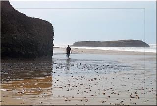 Legzira Beach 79 Metre uzunluğunda plaj görüntü. sea beach maroc marokko sidiifni legzira hingebröselt