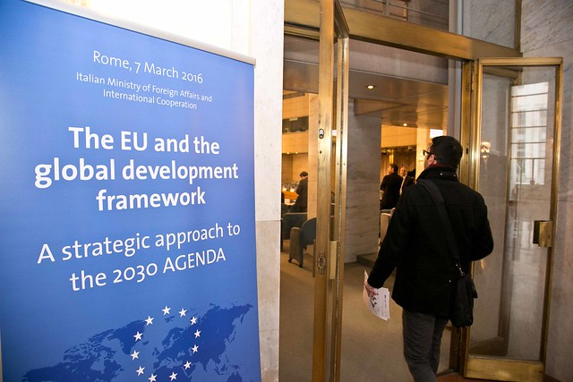 The EU and the global development framework