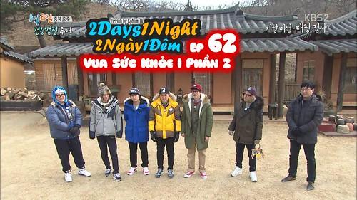 [Vietsub] 2 Days 1 Night Season 3 Tập 62