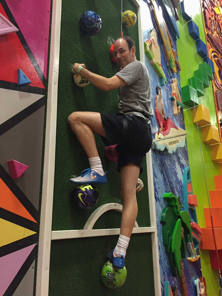 Chad climbing