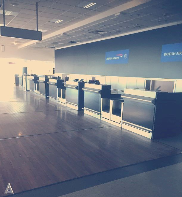 airport benches