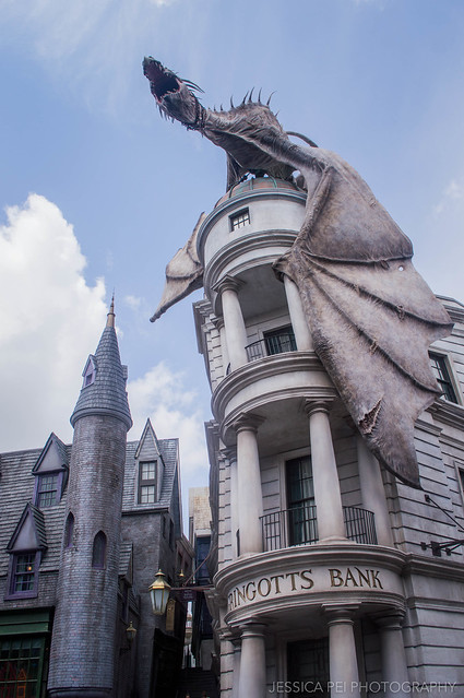 Universal Studios Harry Potter World Diagon Alley Gringotts