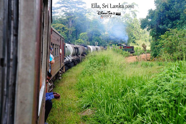 2016 Sri Lanka - Ella Scenic Train