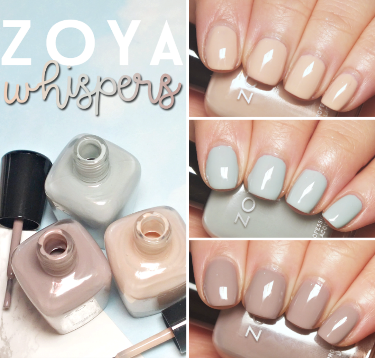 zoya whispers collage
