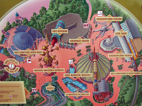 Discoveryland map