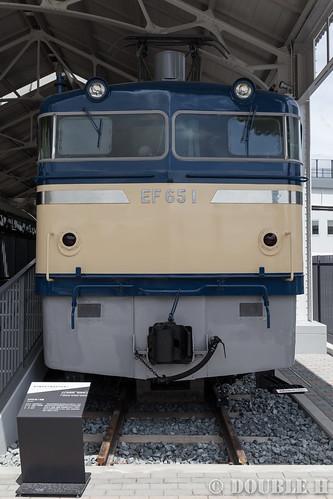 Kyoto Railway Museum (15) Twilight Plaza / EF65-1