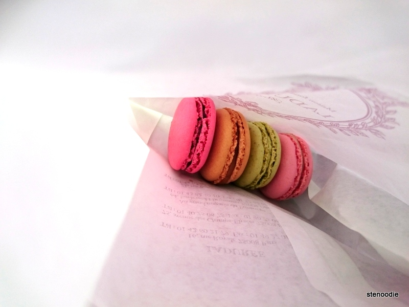 macarons in a bag