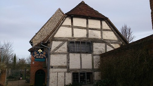 King John's House and Tudor Cottage, frontal view