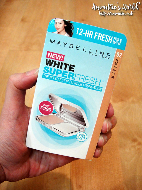 Maybelline White Superfresh Powder Foundation