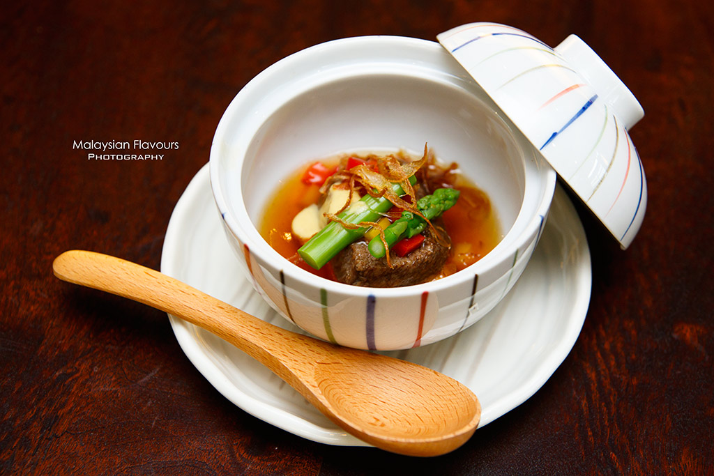 Minori Japanese Restaurant Royale Chulan Hotel steamed beef tongue
