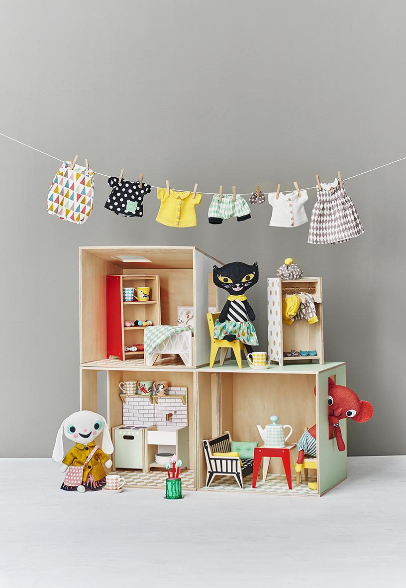 littlephant dolls house&clothes