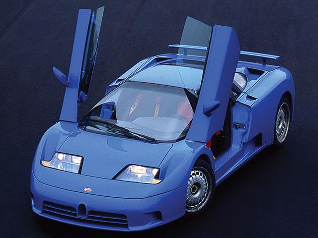 Bugatti EB110 GT Preserial. 1991 – 1992 годы