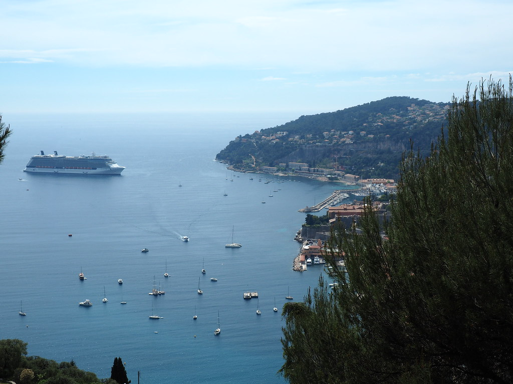 View over Nice from above