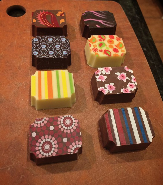 This year's holiday chocolates turned out great!
