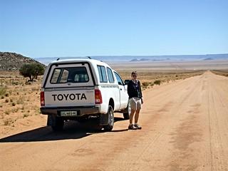 Fahrt von Lüderitz zum Namin Naukluft Park