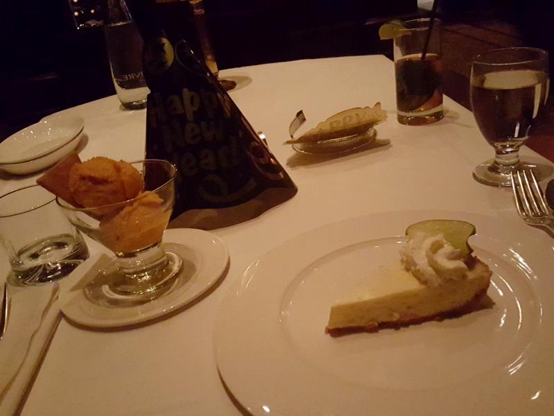 Hys Steakhouse desserts