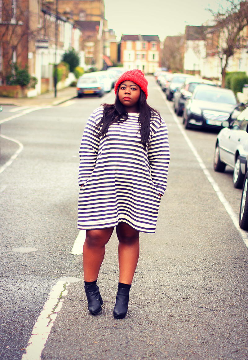 ASOS Curve Striped Dress