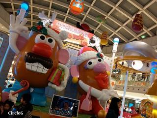 薯蛋頭 DISNEYLAND TOY STORY 新都城中心 寶琳 將軍澳 HONGKONG 2015 CIRCLEG 聖誕裝飾 (1)