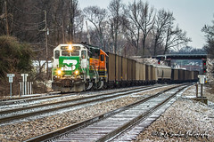BNSF 2885 | EMD GP39M | BNSF Thayer South Subdivision