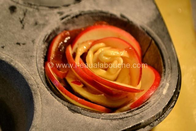 Rose Sablée aux Pommes et à la Confiture de Figue © Ana Luthi Tous droits réservés 12