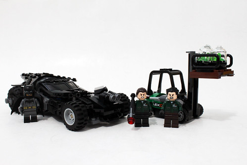 LEGO DC Comics Super Heroes Batman v Superman: Dawn of Justice Kryptonite Interception (76045)