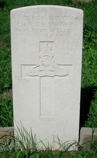 First World War Grave, Geddington