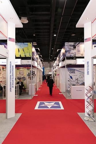 Arab Health 2016 U.S. Meeting Point & Exhibitor Booths