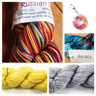 Prizes for the #knitspirationKAL16. Check out the link in my profile for details. These are all makers who inspire me.