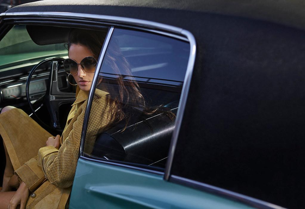 Лили Олдридж — Фотосессия для «Vogue» ES 2015 – 1