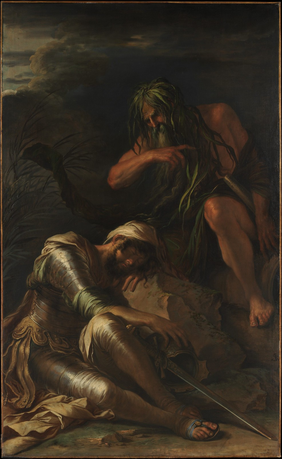 Salvator Rosa - The Dream of Aeneas, 1660-65