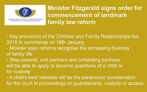 Children and Family Relationships Act 2015  - Jan 2016