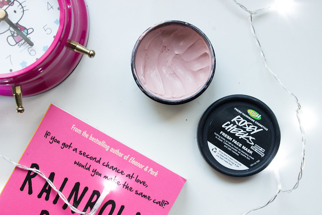Rosy Cheeks LUSH fresh face mask