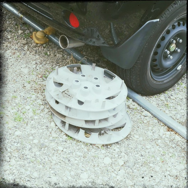 Car hubcaps