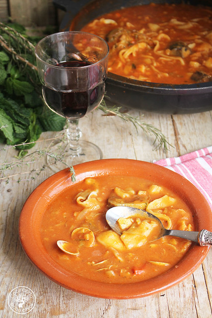 Andrajos con bacalao de Jaen www.cocinandoentreolivos.com (35)