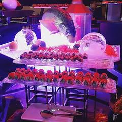 •Sushi•  Maki, Nigiri and Sashimi station  Street food brunch at Spice Market