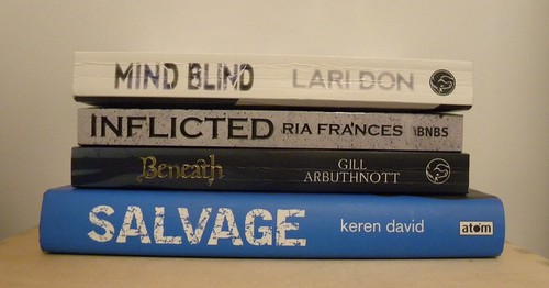 RED awards Falkirk - shortlisted books