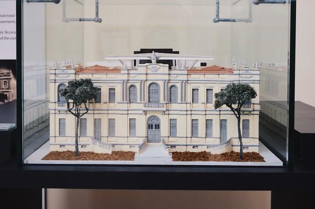 miniatura da fachada do museu da gente sergipana