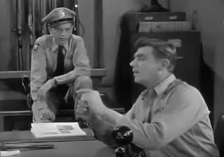 Andy shows Barney wrong-way Buffalo nickel