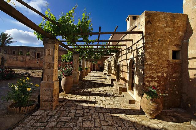 Crete monastery