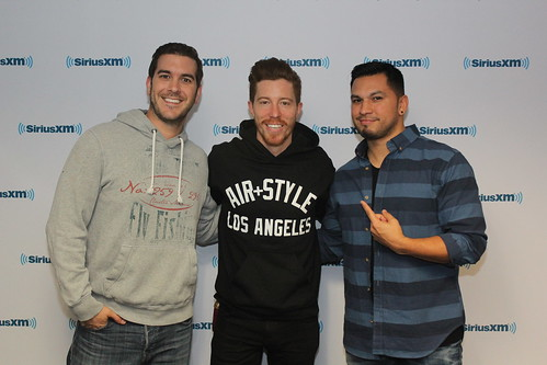 Shaun White returns to the Covino & Rich Show