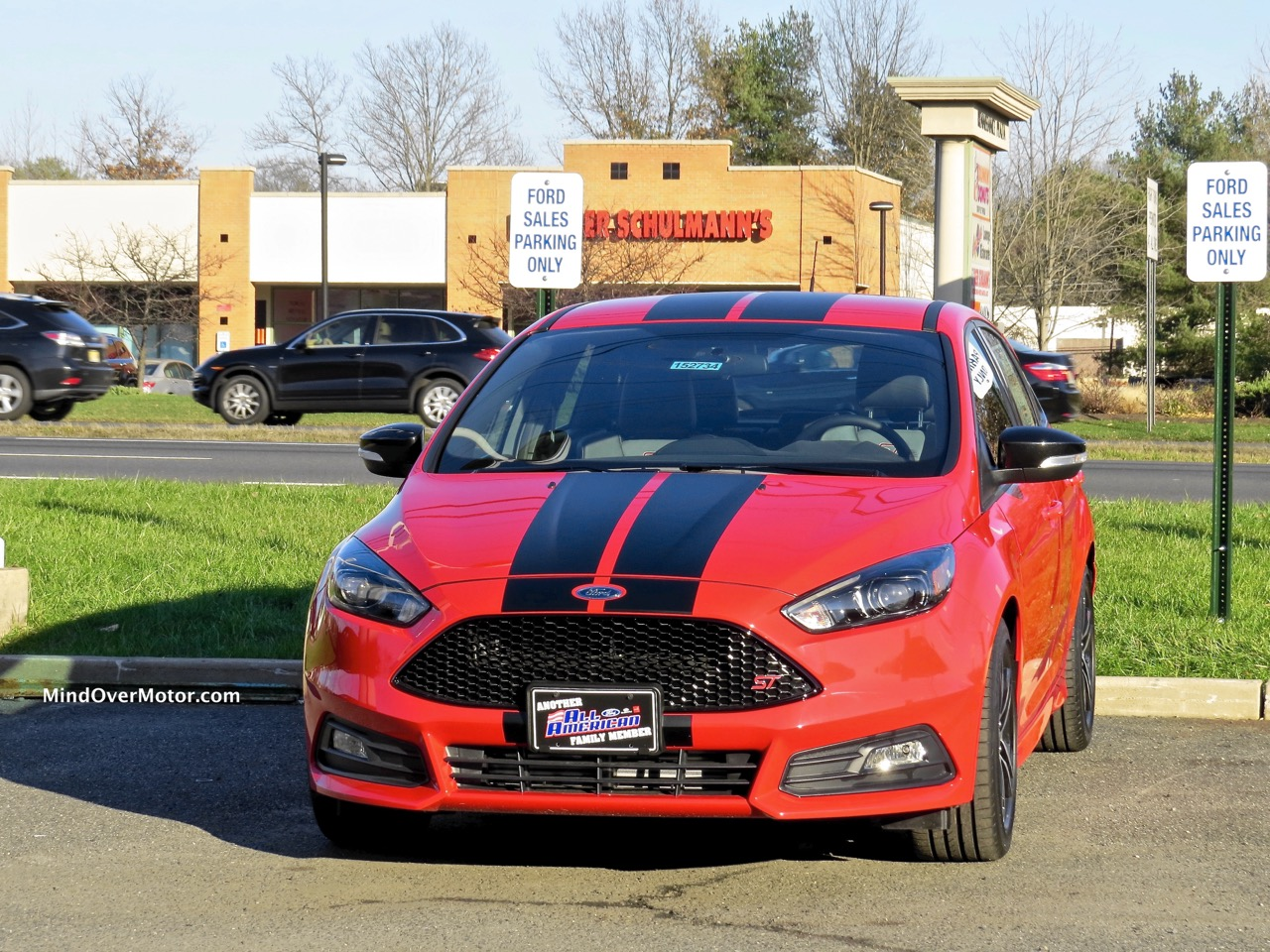 Ford Focus ST Front 1