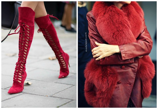 red+lace+up+boot+red+fur