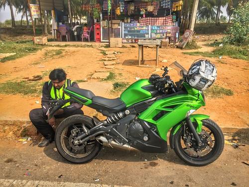 travel india ride biking february karnataka touring 2016 melukote rayagopura