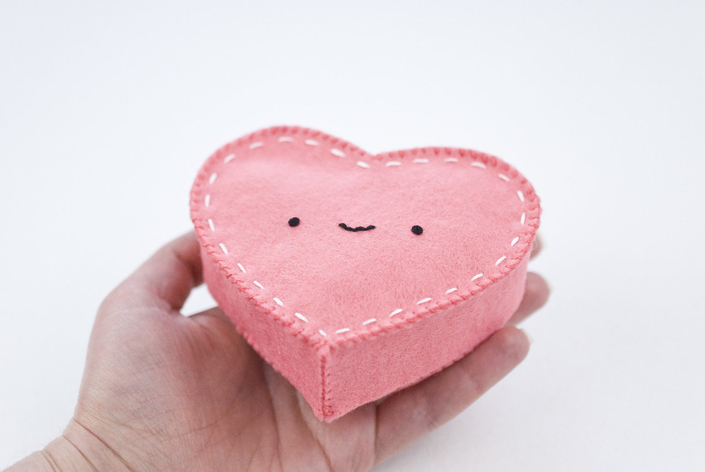 Not-So-Lonely Heart Felt Box
