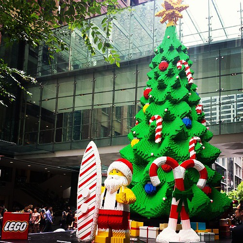 Spotted! A super cool #Lego #Christmas...