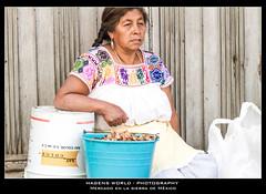 Mercado en la sierra de México