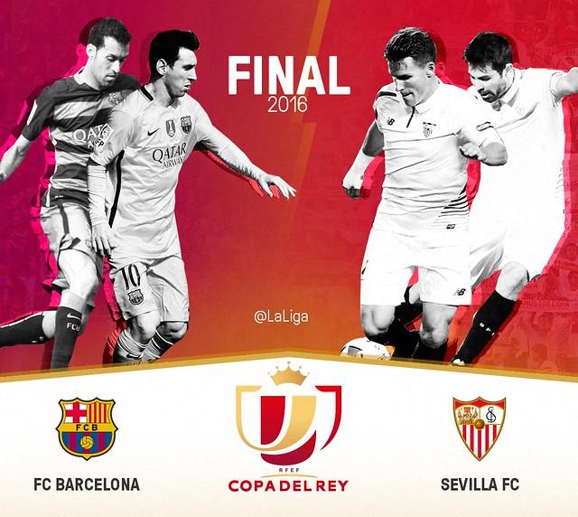 Copa del Rey (Final): FC Barcelona - Sevilla FC