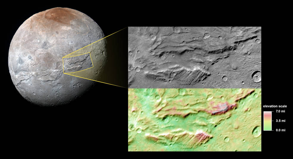 Pluto's 'Hulk-like' Moon Charon A Possible Ancient Ocean