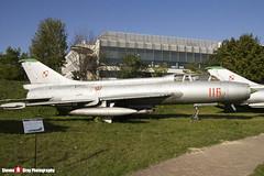 116 - 2116 - Polish Air Force - Sukhoi SU-7 UM - Polish Aviation Musuem - Krakow, Poland - 151010 - Steven Gray - IMG_0354